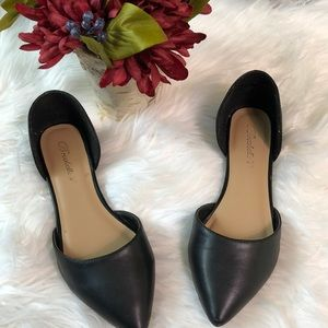 Breckelle's black flats Dolley-51
